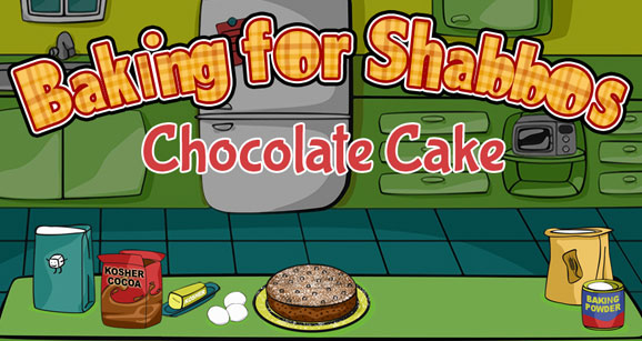 Play our baking for shabbos game at uncle moishy world website