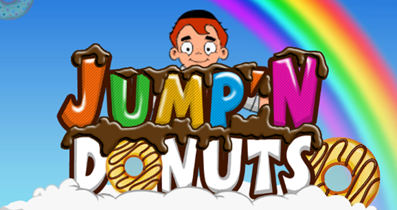 come and play jump'n donuts game at uncle moishy world website
